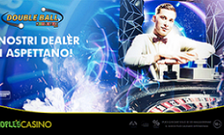 People's Casino, si gioca con la Double Ball Roulette Live
